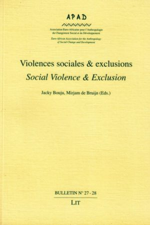 No. 27-28 Violences sociales et exclusions / Social violence and exclusion