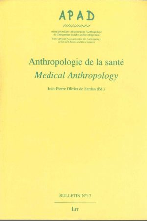 No. 17 Anthropologie de la santé / Medical anthropology