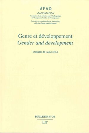 No. 20 Genre et développement / Gender and development