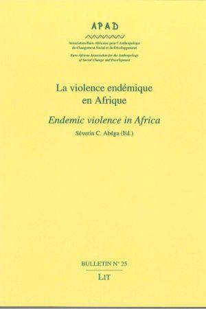 No. 25 La violence endémique en Afrique / Endemic violence in Africa