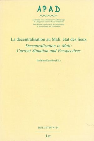 No. 14 La décentralisation au Mali : état des lieux / Decentralization in Mali : current situation and perspectives