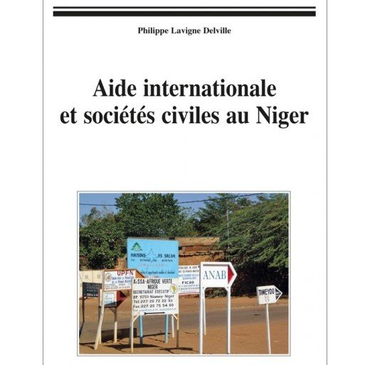 Just Published  : Aide internationale et sociétés civiles au Niger