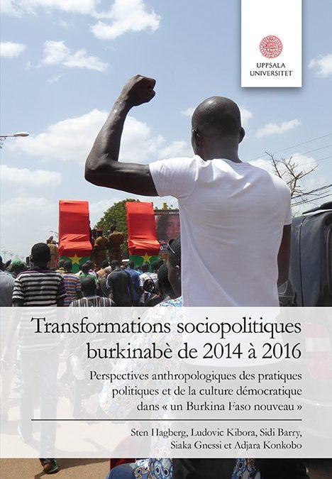 Transformations sociopolitiques burkinabè de 2014 à 2016