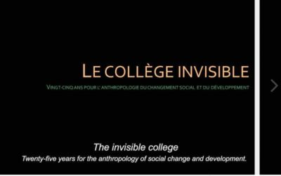 """The Invisible College. 25 years for the Anthropology of Social Change and Development"". A video on APAD origin"